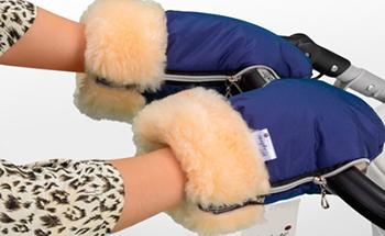 Муфта-рукавички Esspero Double Navy