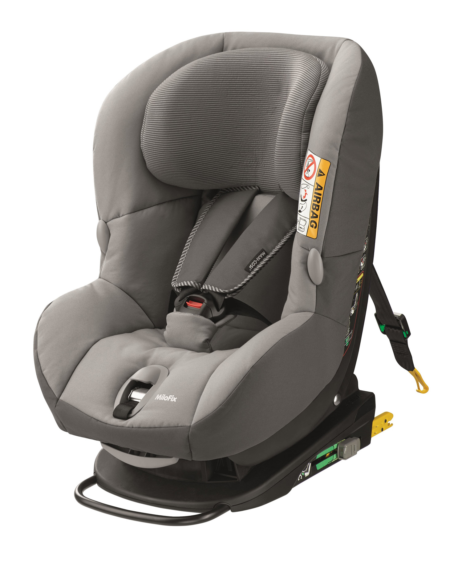 Автокресло Maxi Cosi Milo Fix Concrete Grey