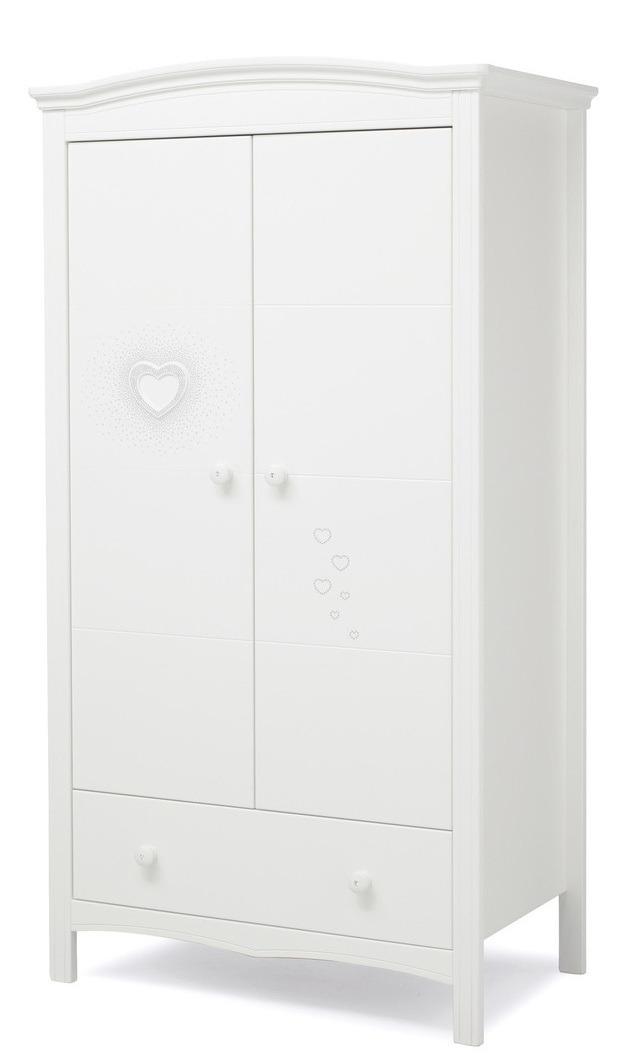 Купить шкаф двустворчатый erbesi cuore белый в москве недоро.