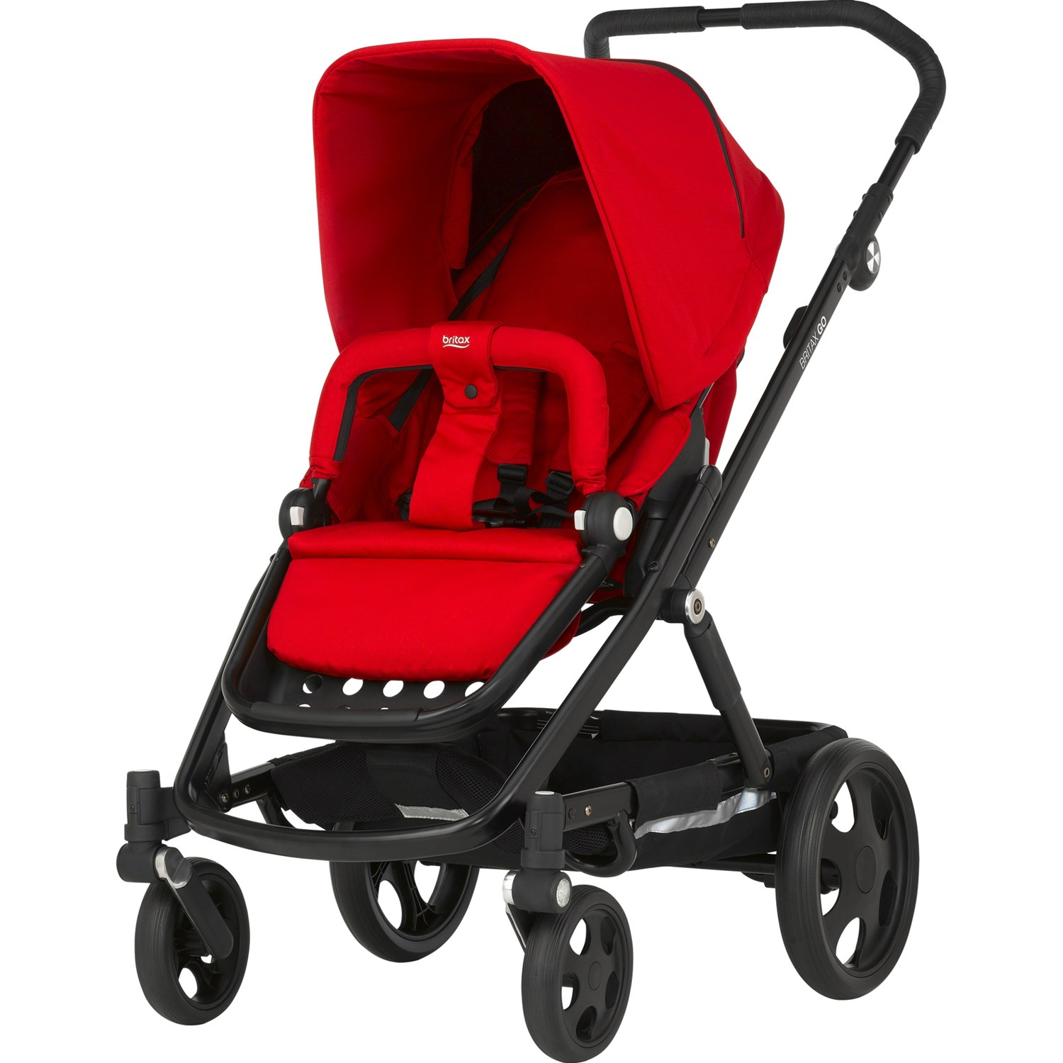 Britax Go Flame Red