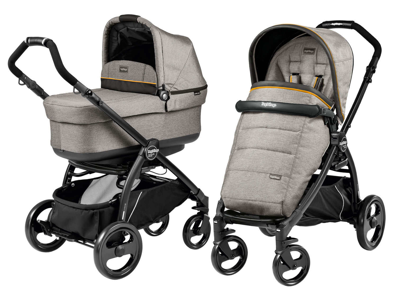 Peg-Perego Book Plus Modular POP UP Luxe Grey