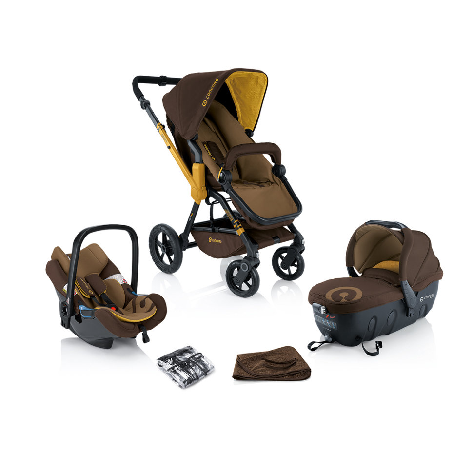 Concord Wanderer Travel Set Air Coconut Brown