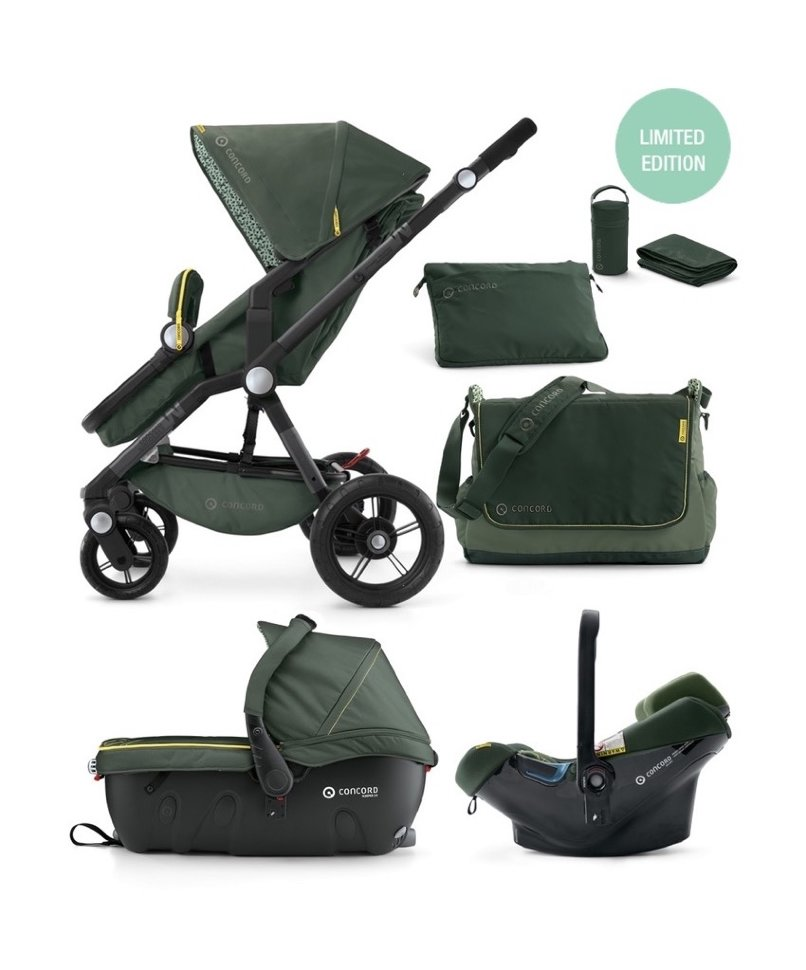 Concord Wanderer Travel Set Air Jungle Green