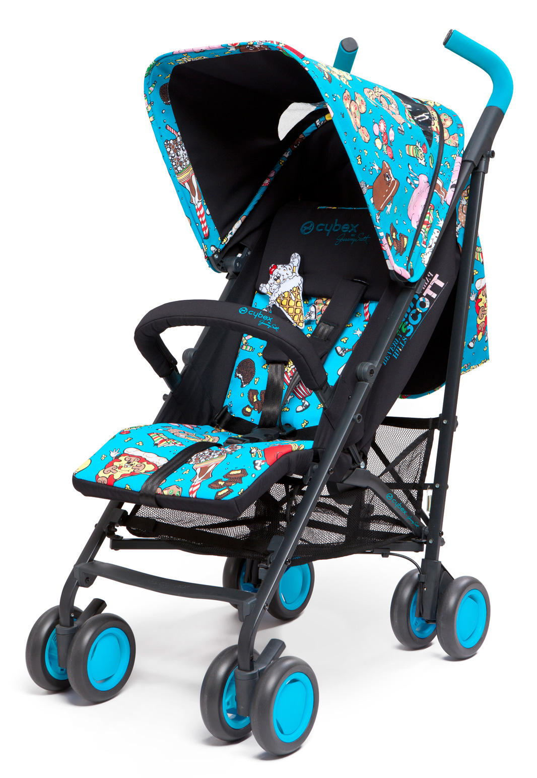 Cybex Onyx Jeremy Scott multicolour