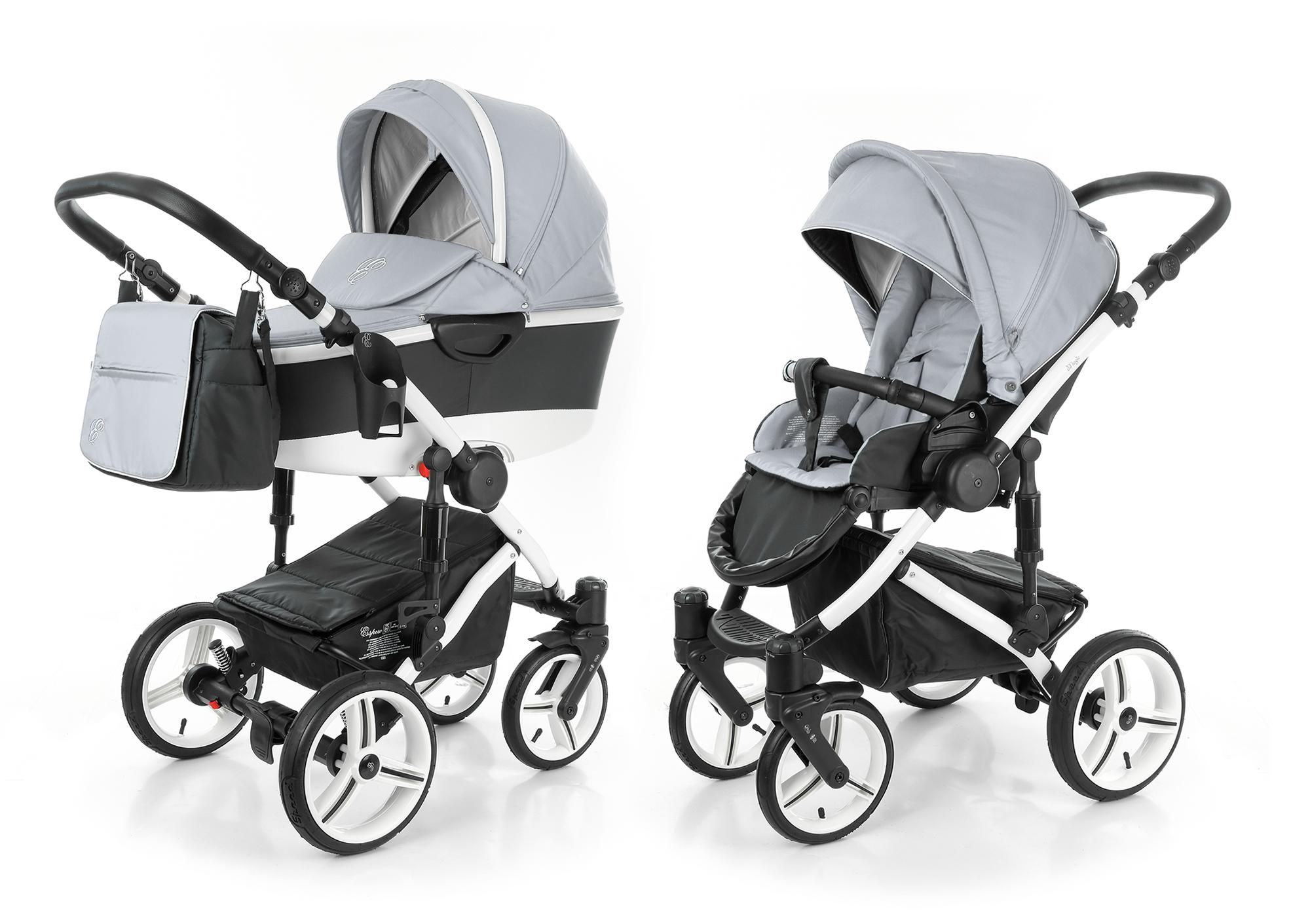 Детская коляска Esspero Discovery 3 в 1 шасси Beige