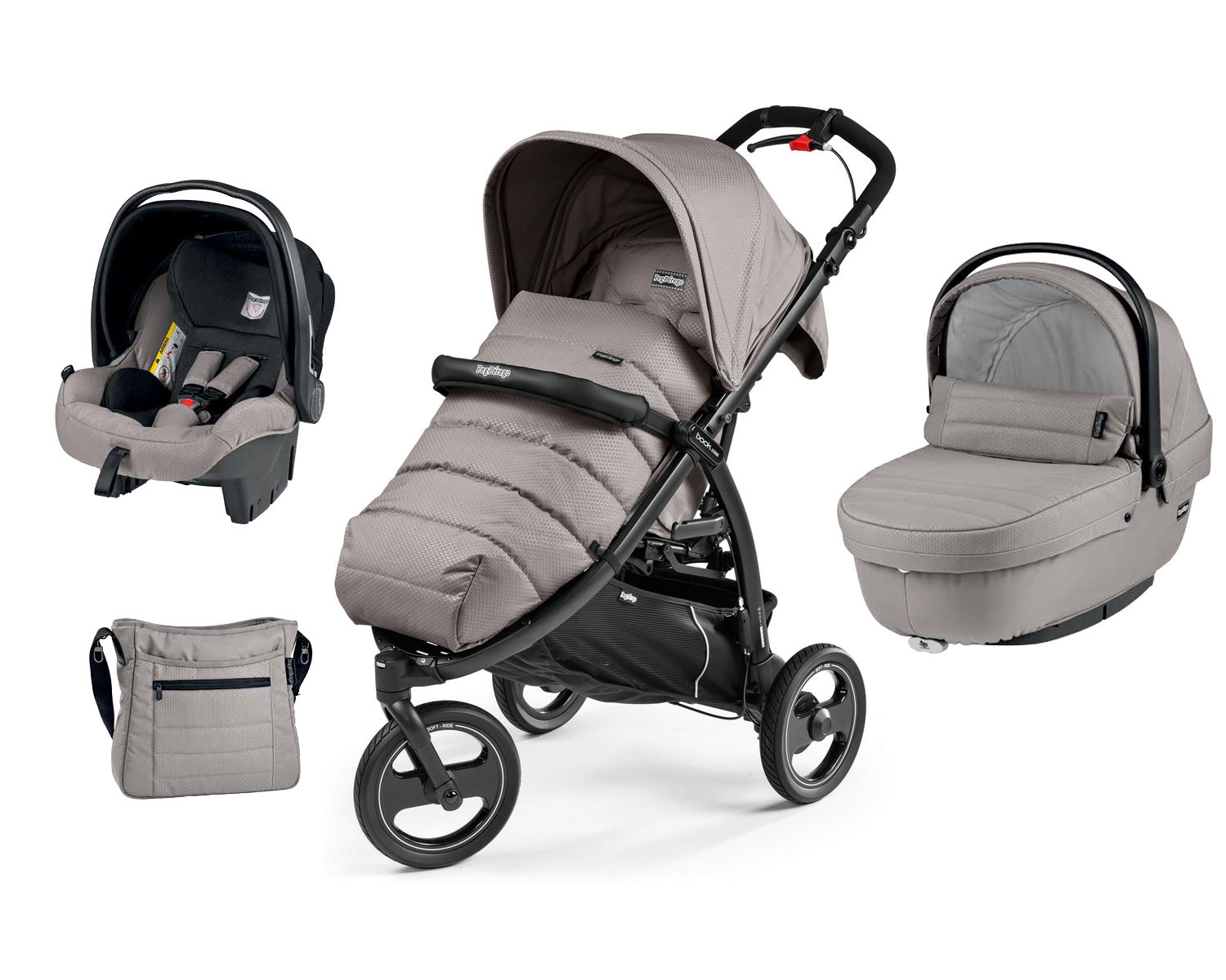 Peg-Perego Book Cross Set Modular Mod Beige