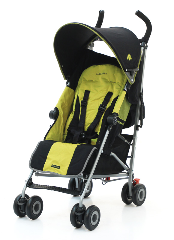 Maclaren Quest Sport Black/Citrus lime
