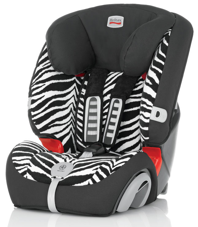Автокресло Britax Romer Evolva 123 Plus Smart Zebra