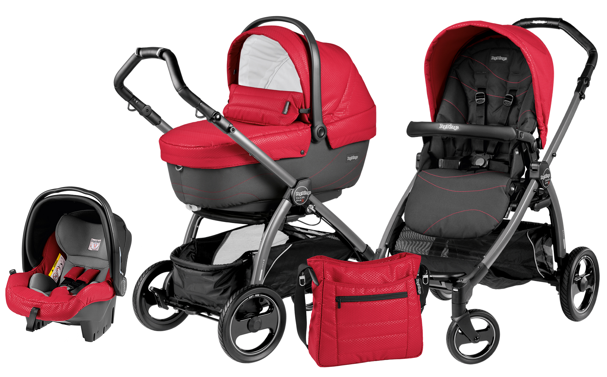 Peg-Perego Book Plus S Set Modular Bloom Red