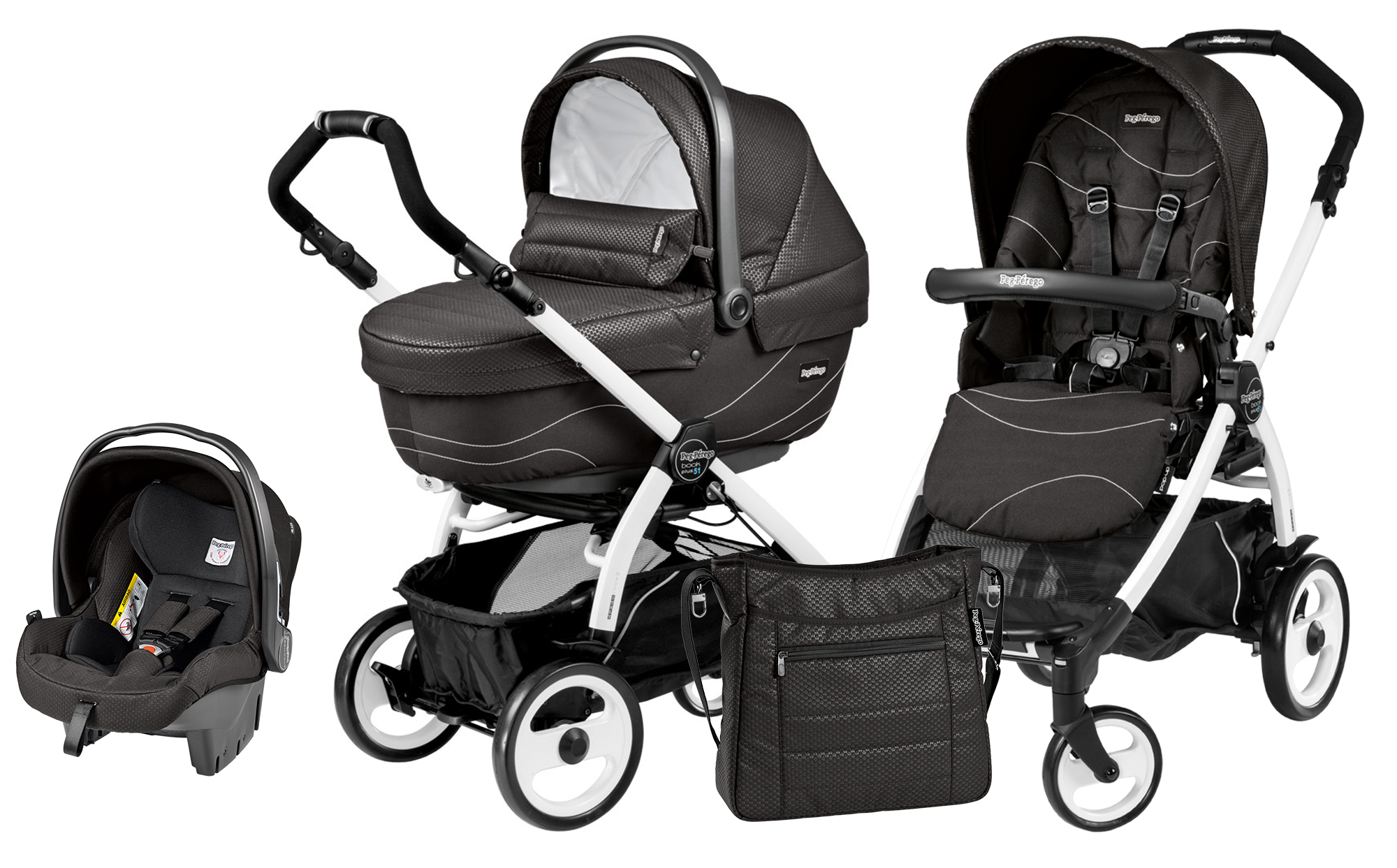 Peg-Perego Book Plus 51 Set Modular Bloom Black