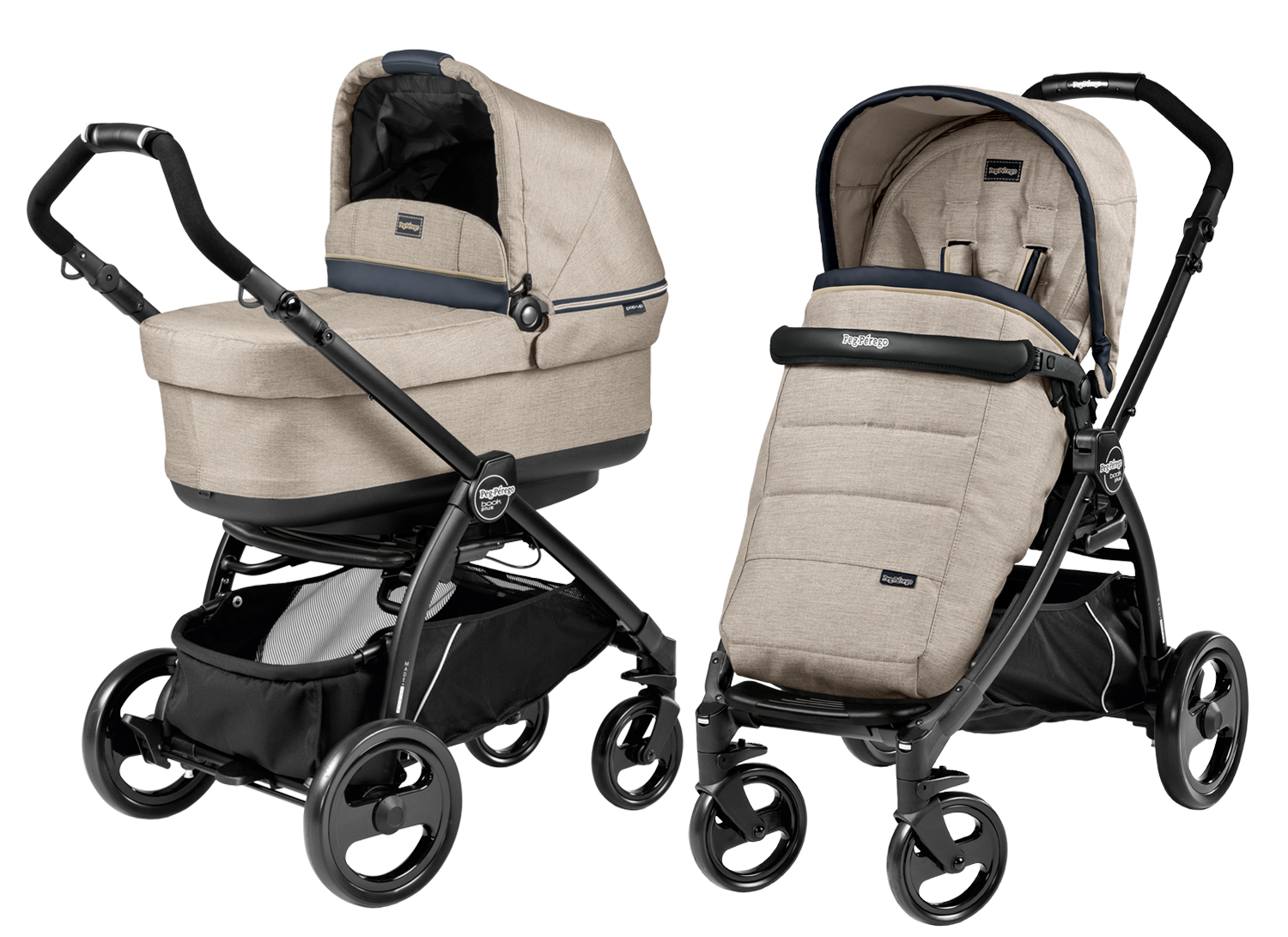 Peg-Perego Book Plus Modular POP UP Luxe Beige