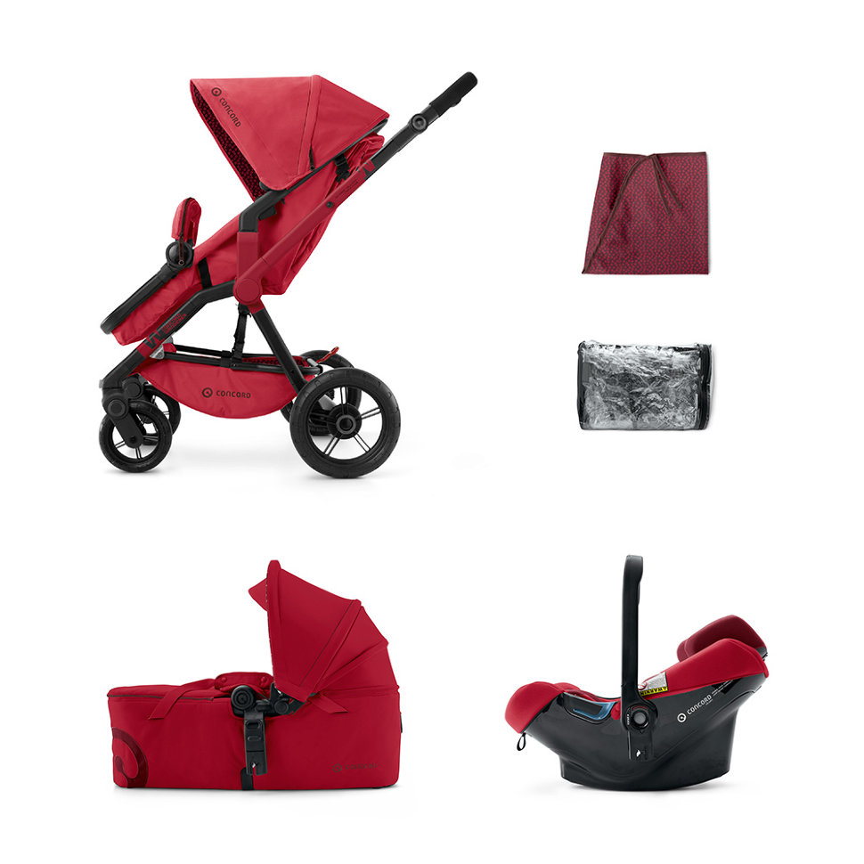 Wanderer Mobility Set Ruby Red