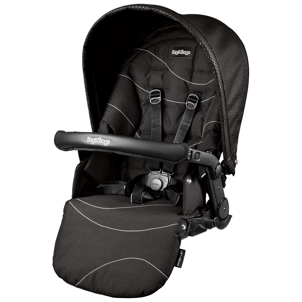 Peg-Perego Seggiolino Pop-Up Bloom Black