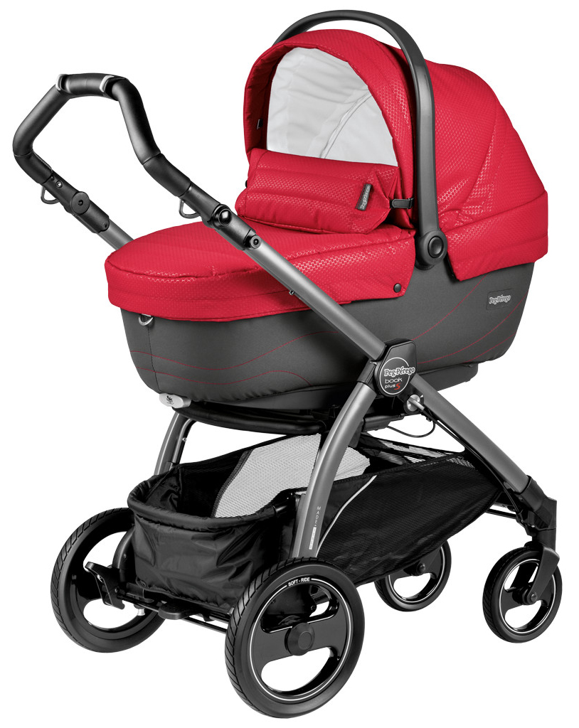 Peg-Perego Book Plus S Navetta XL Bloom Red