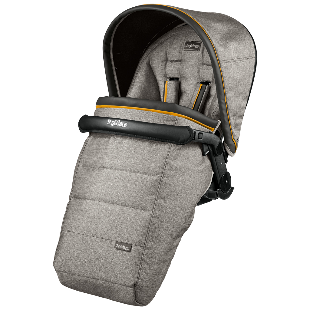 Peg-Perego Seggiolino Pop-Up Luxe Grey
