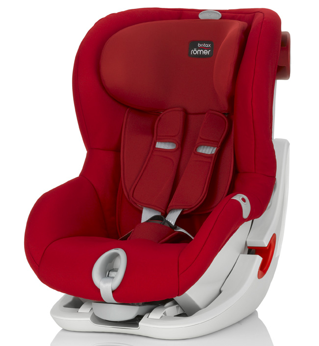 Автокресло Britax Römer King II LS Flame Red