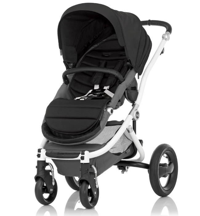 Britax Affinity White Chassis