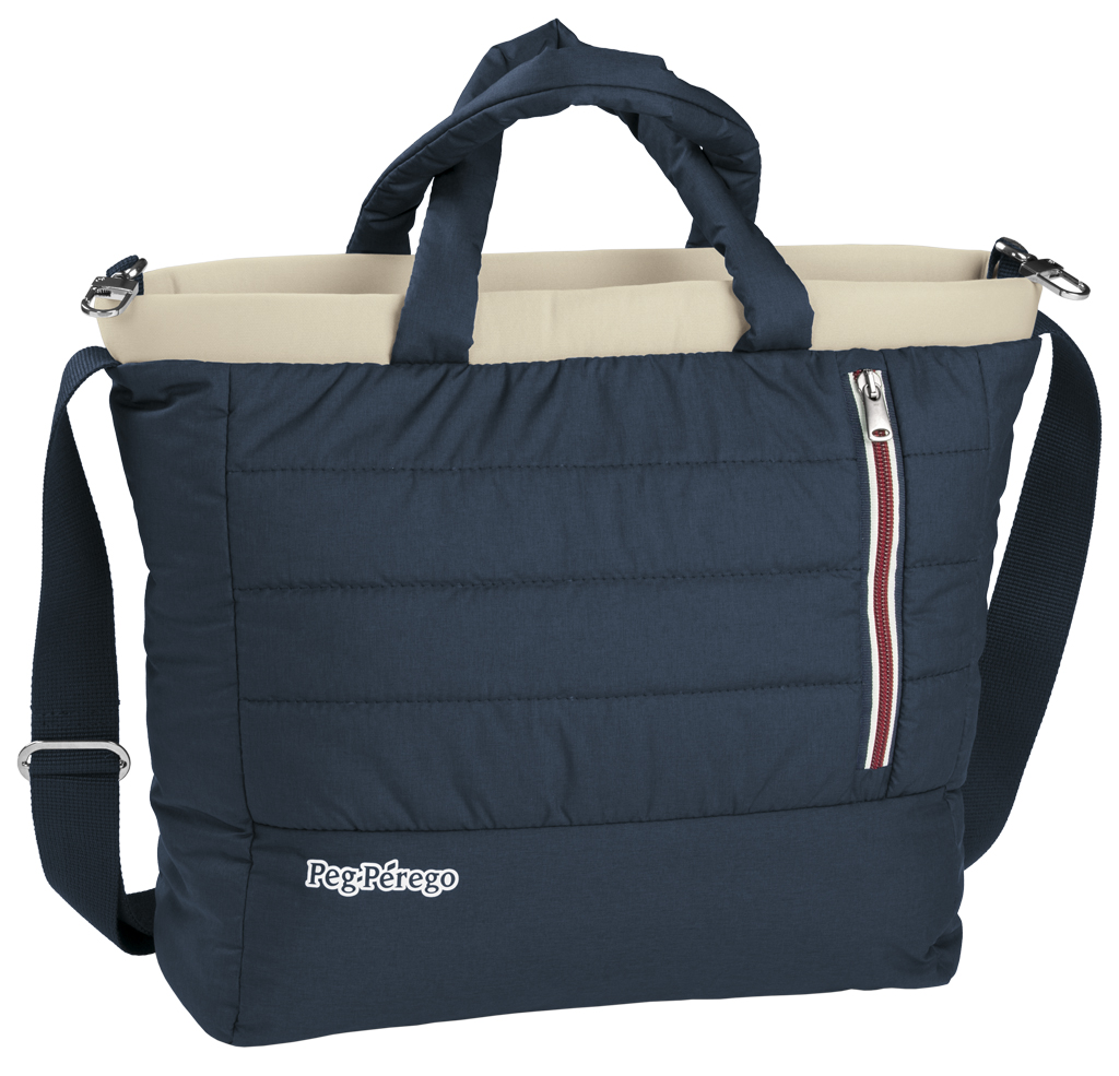 Сумка для коляски Peg Perego Borsa Mamma Elite Breeze Blue