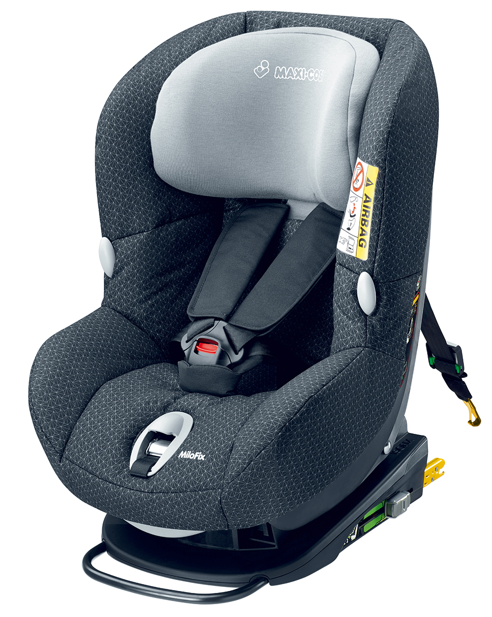 Автокресло Maxi Cosi Milo Fix Black Crystal