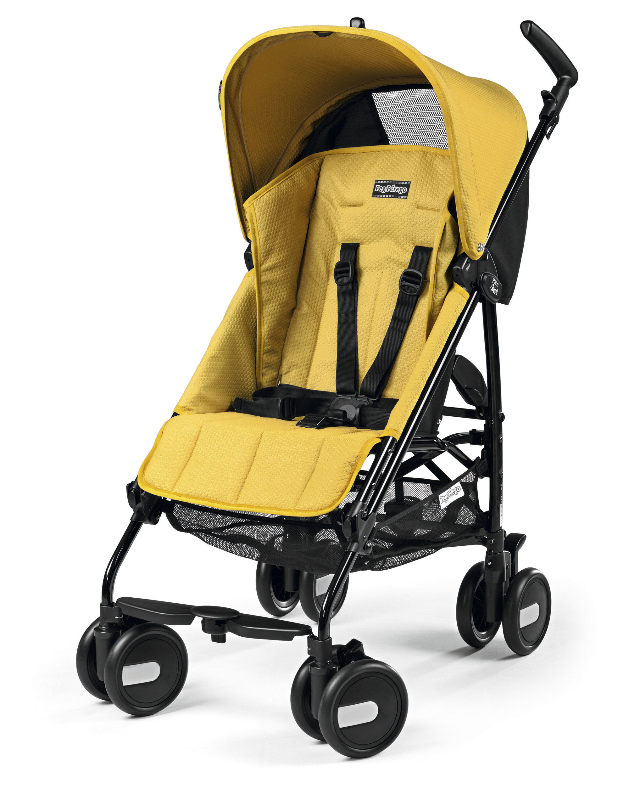 Коляска-трость Peg Perego Pliko Mini Mod Yellow