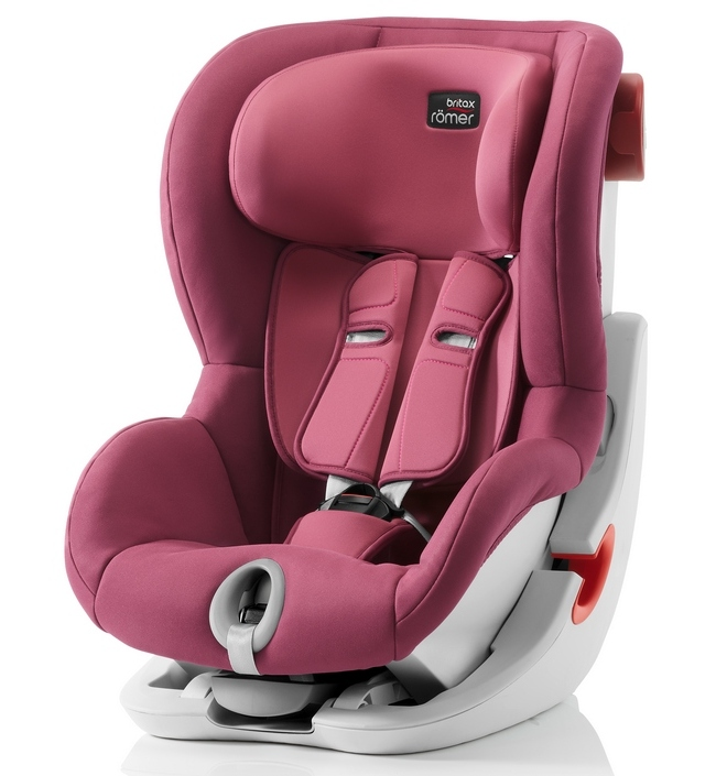 Автокресло Britax Römer King II Wine Rose