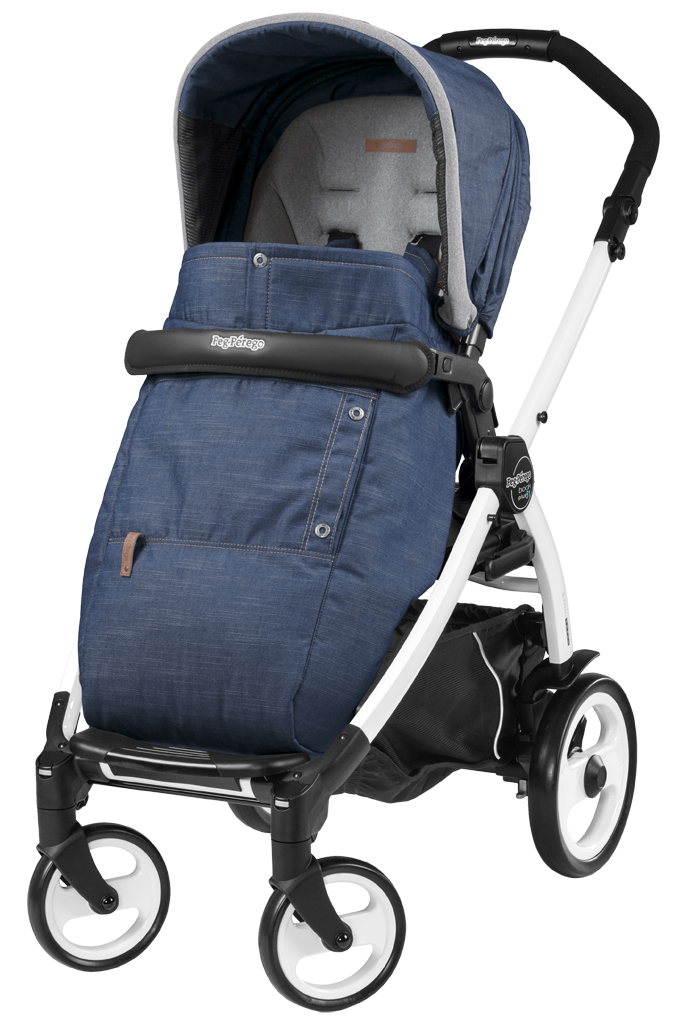 Peg-Perego Book Plus 51 Pop Up Urban Denim