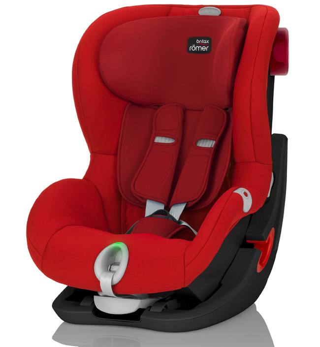 Автокресло Britax Römer King II LS Black Series Flame Red