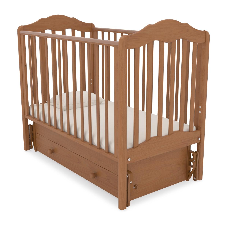 Кроватка детская Гандылян Анастасия (продольный маятник)