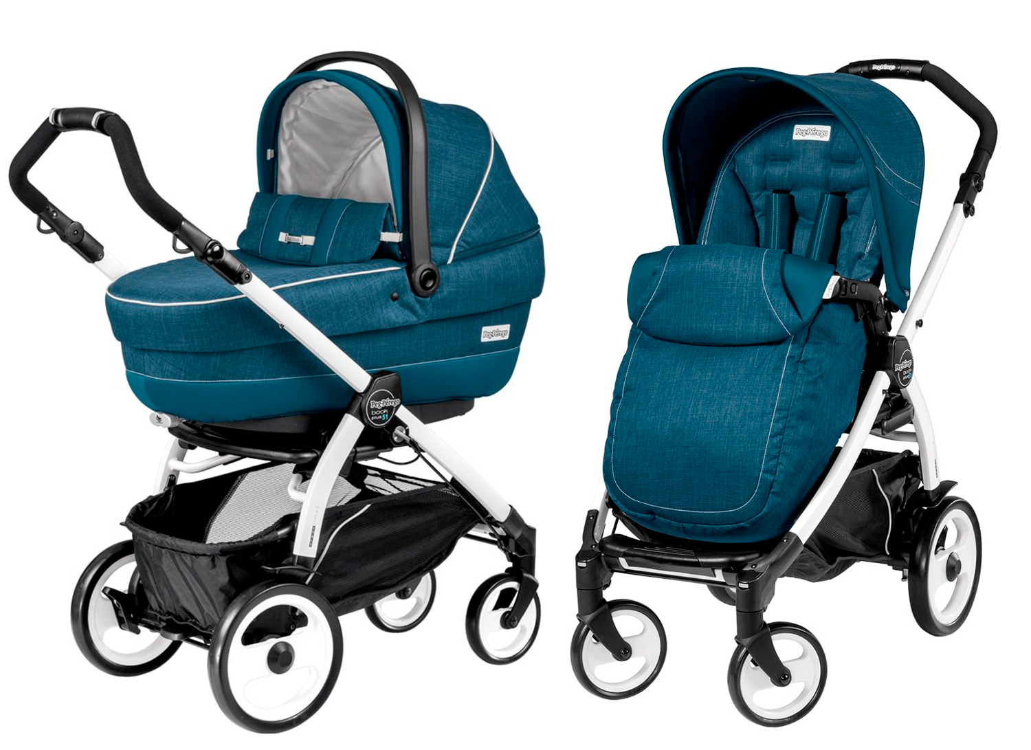 Peg-Perego Book Plus 51 Modular Saxony Blue