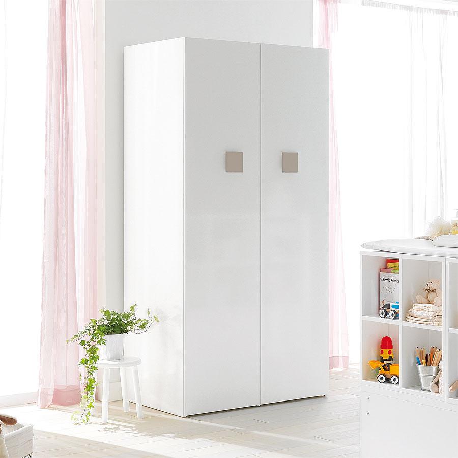 Детский шкаф pali voyager white beige.
