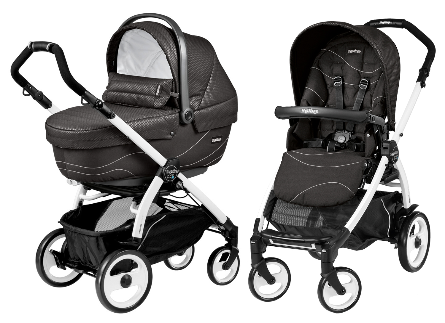 Peg-Perego Book Plus 51 Modular Bloom Black