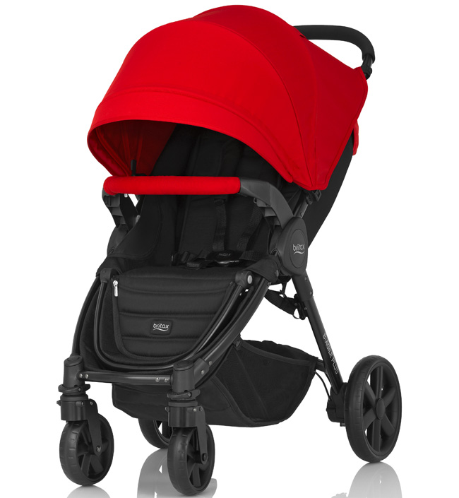 Britax В-Agile 4 PLUS Flame Red