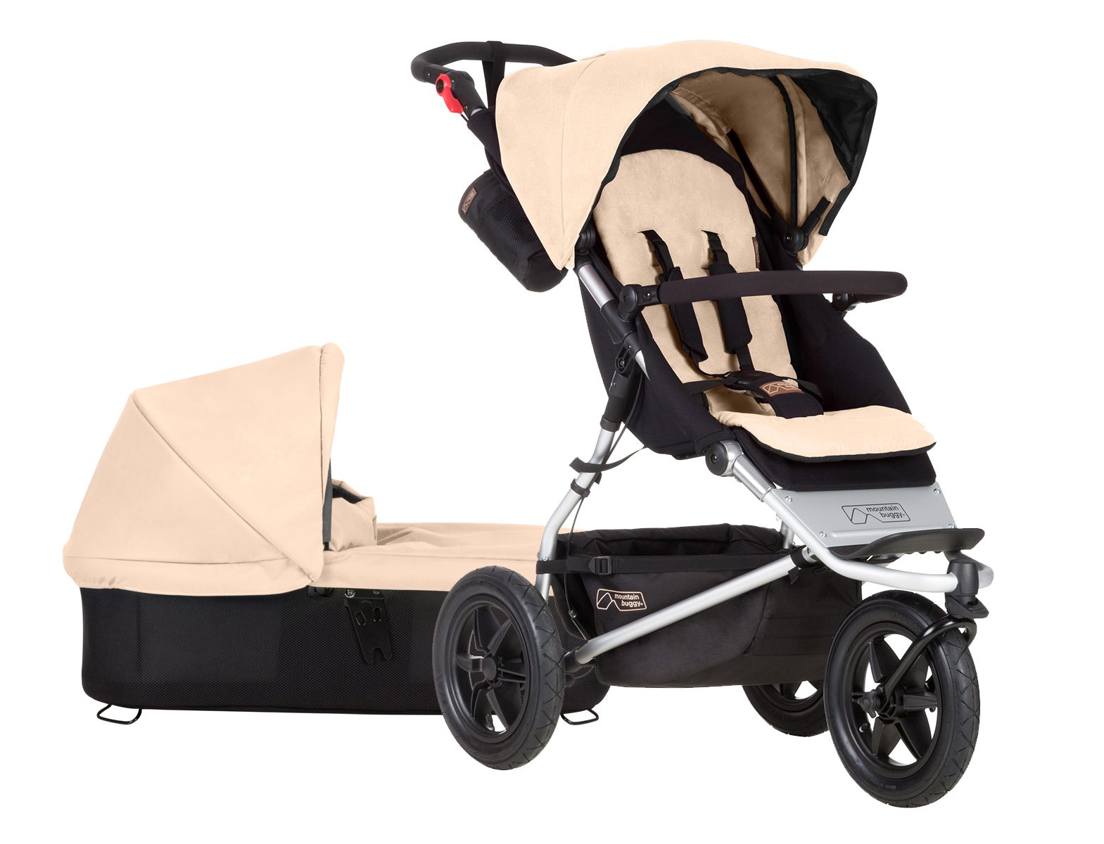Коляска 2 в 1 Mountain Buggy Urban Jungle EVO Jungle Sand