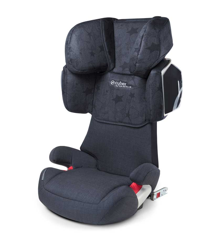 Автокресло Cybex Solution X2-Fix Denim by Lala Berlin-blue