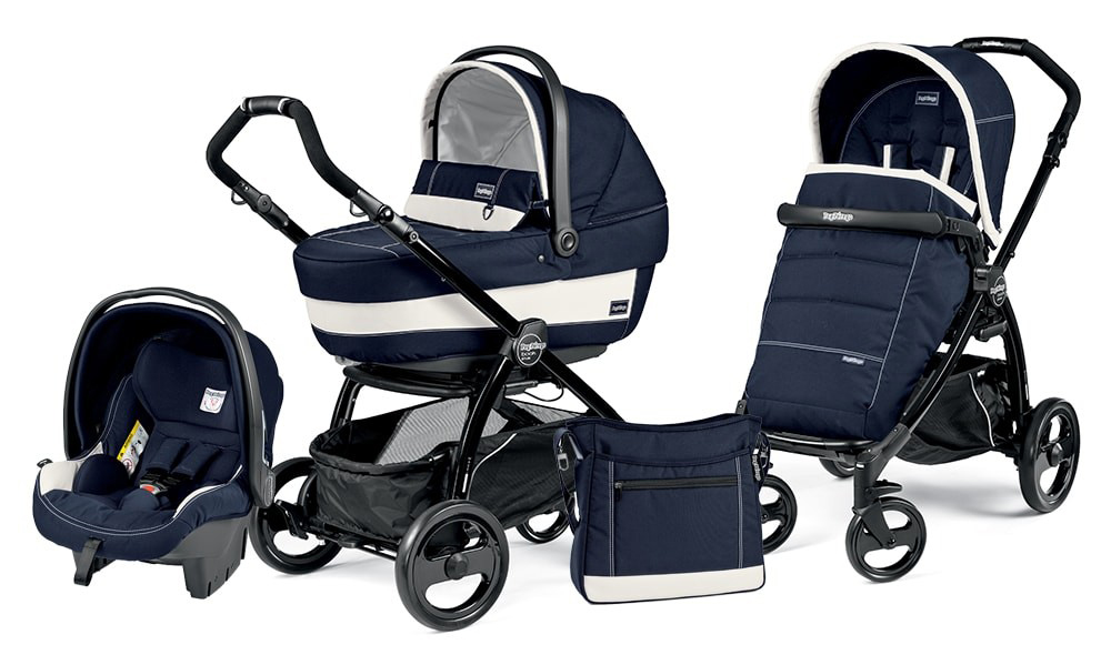 Коляска 3 в 1 Peg Perego Book Plus XL Set Modular Riviera