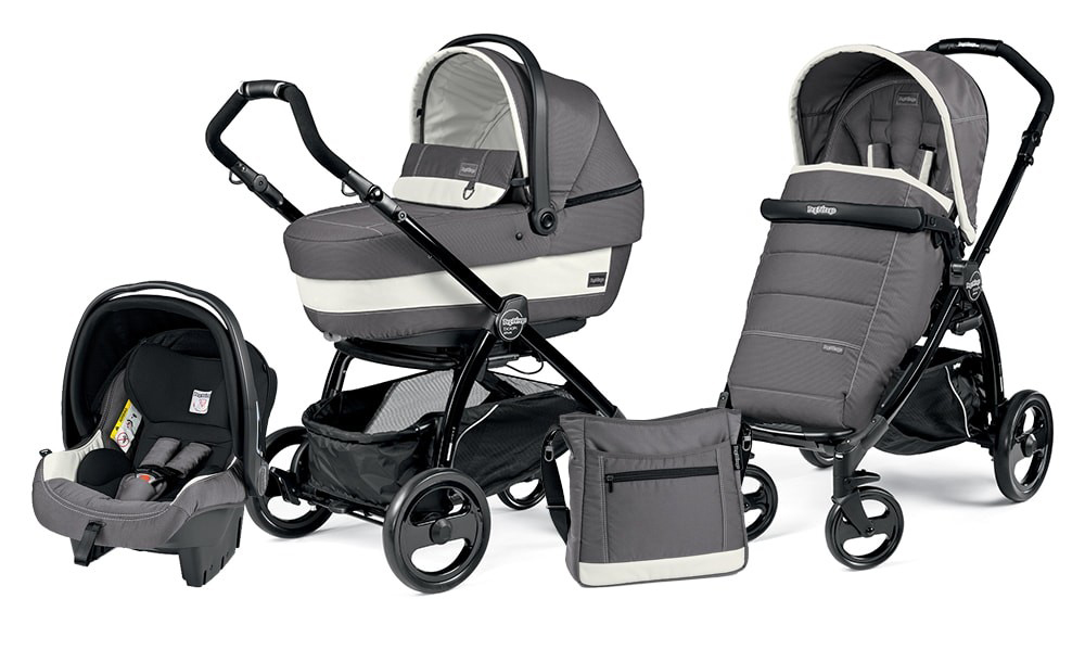 Коляска 3 в 1 Peg Perego Book Plus XL Set Modular Ascot