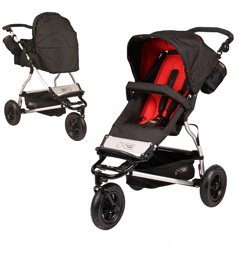 Коляска 2 в 1 Mountain Buggy Swift EVO Chilli
