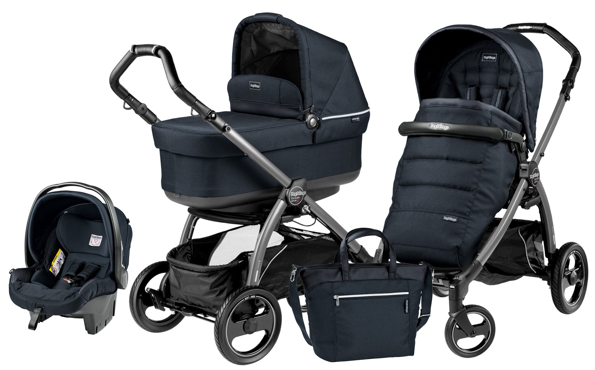Peg-Perego Book Plus S Pop Up Modular Luxe Bluenight
