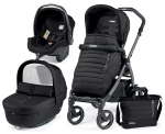 Коляска 3 в 1 Peg Perego Book S Breeze Modular System (шасси White/Black)