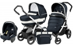 Коляска 3 в 1 Peg Perego Book 51 S Elite Set Modular (шасси White/Black)