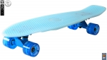 Скейтборд Y-SCOO Big Fishskateboard GLOW 27