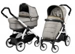 Коляска 2 в 1 Peg Perego Book 51 Pop Up Modular (шасси White/Black)