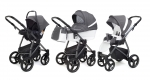 Коляска 3 в 1 Esspero Grand Newborn Lux (шасси Graphite)