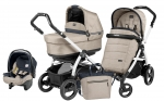 Коляска 3 в 1 Peg Perego Book 51 S Pop Up Modular System (шасси White/Black)