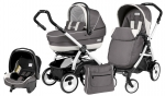 Коляска 3 в 1 Peg Perego Book 51 XL Set Modular (шасси White/Black)