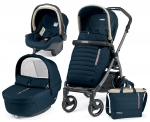 Коляска 3 в 1 Peg Perego Book S Breeze Set Modular (шасси White/Black)