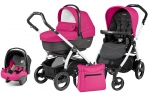 Коляска 3 в 1 Peg Perego Book 51 S XL Set Modular (шасси White/Black)