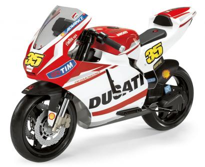 Электромобиль Peg Perego Ducati GP