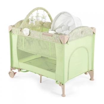 Кровать-манеж с пеленальным столиком Happy Baby Lagoon V2