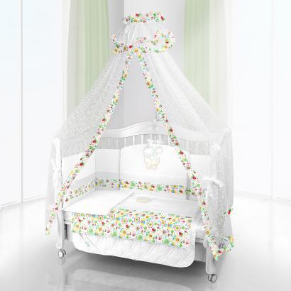 Комплект постельного белья Beatrice Bambini Unico Flower Campo (125х65)